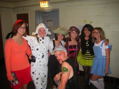ohio university, halloween, block party