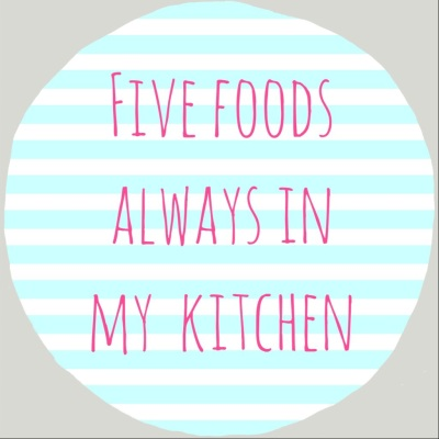 5 foods i always have in my kitchen